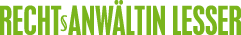 Rechtsanwältin Lesser Logo